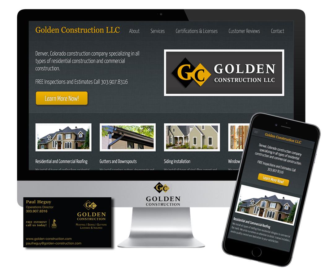 Golden construction jbk website design about this project colourmoves